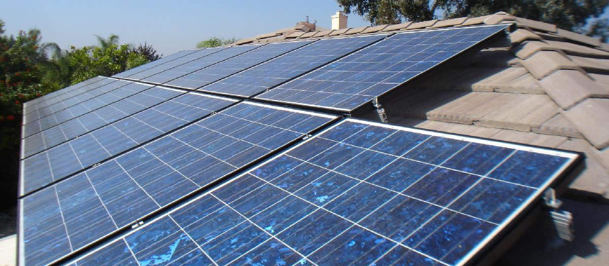 Solar panels Portraine